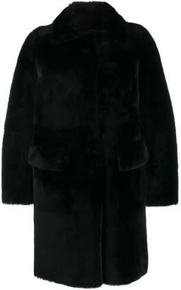 Desa 1972 long sleeve shearling coat