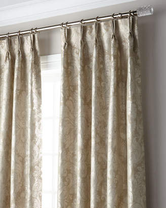 "Thomas Laboratories Misti Modern Luxuries Bellamy 3-Fold Pinch Pleat Blackout Curtain Panel, 108"""