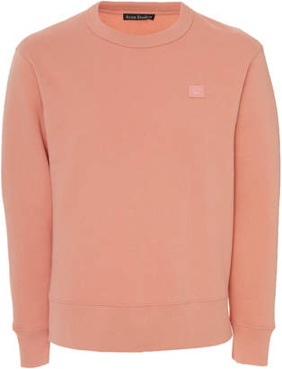 Acne Studios Fairview Embroidered Cotton-Jersey Sweatshirt