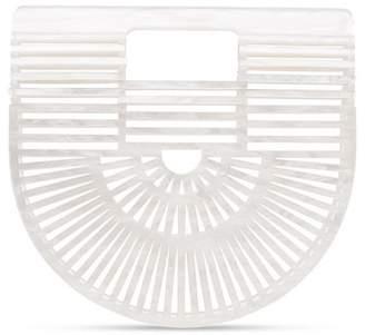 Cult Gaia White Ark Small acrylic bag