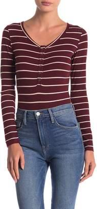 Anama Striped Bodysuit