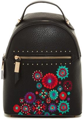 Steve Madden Jules Embroidered Backpack $85 thestylecure.com