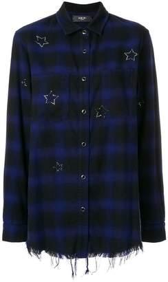 Amiri Crystal checked flannel shirt