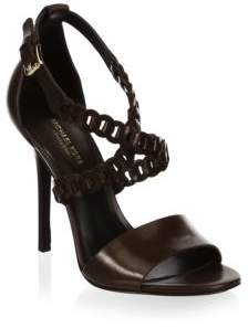Michael Kors Miriam Leather Sandals