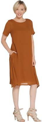 Linea By Louis Dell'olio by Louis Dell'Olio Regular Crepe Dress with Lining