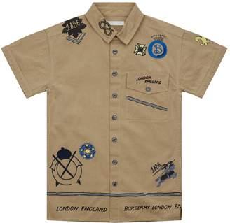 Burberry Adventure Gabardine Shirt
