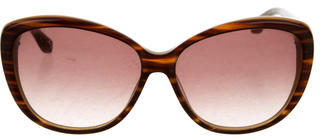 Marc Jacobs Oversize Tortoiseshell Sunglasses $95 thestylecure.com