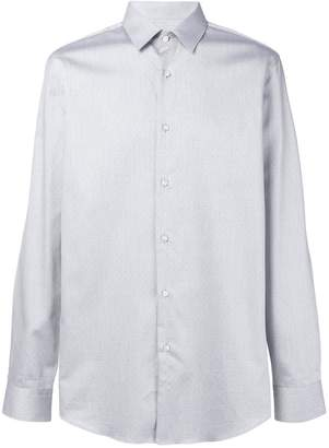 HUGO BOSS classic curved hem shirt