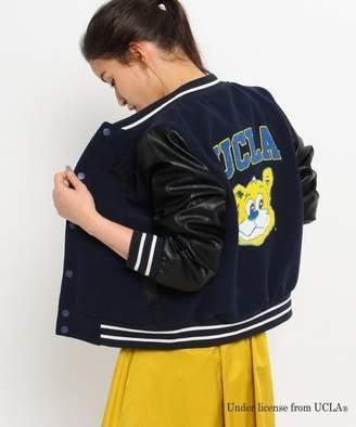 aquagirl (アクアガール) - AG by aquagirl 【別注】UCLA 刺繍スタジャン