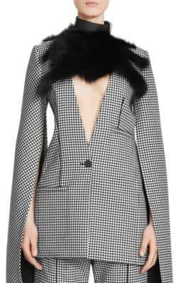 Loewe Fox Fur Collar