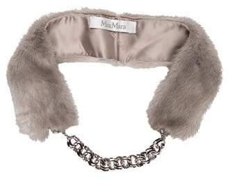 Max Mara Mink Fur Collar