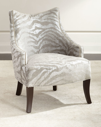 Haute House Lilia Animal-Print Chair