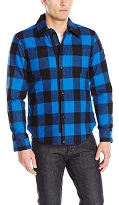 Moose Knuckles Men's Ross Flannel Shirt Jacket