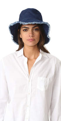 Hat Attack Frayed Edge Crusher Hat $45 thestylecure.com