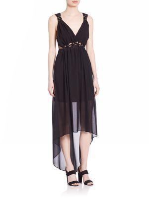 Bailey 44 Sand River Grecian Chiffon Dress $298 thestylecure.com