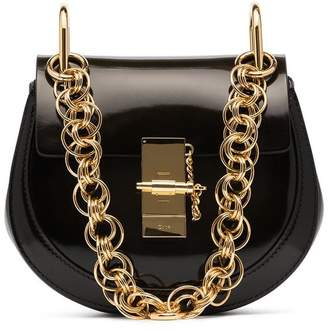 Chloé Black Drew quilted leather shoulder bag