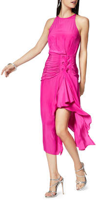 Ramy Brook Lana Shirred Corset Midi Dress