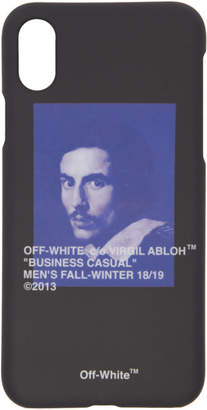 Off-White Black Bernini iPhone X Case