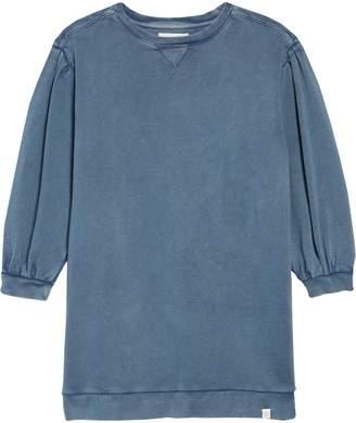 Treasure & Bond Bubble Sleeve Sweatshirt Dress