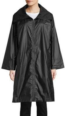 Eileen Fisher High Collar Zip Jacket