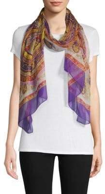 Versace Graphic Silk Stole