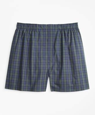 Brooks Brothers Traditional Fit Black Watch Tartan Boxers
