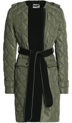 Ashley B. Quilted Shell Down Jacket