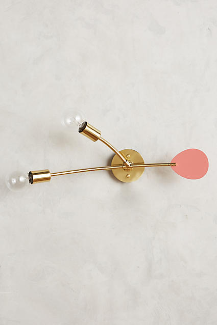 Anthropologie Anthropologie Lacquered Mobilesque Sconce