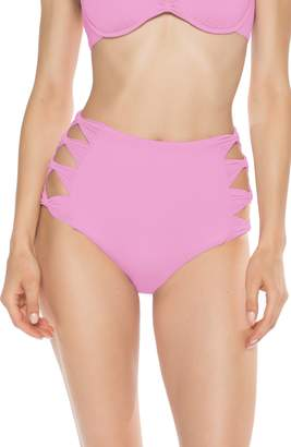 a7b794e042 Isabella Collection ROSE Bow Tie High Waist Bikini Bottoms