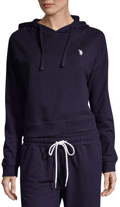 U.S. Polo Assn. USPA Long Sleeve French Terry Hoodie-Juniors
