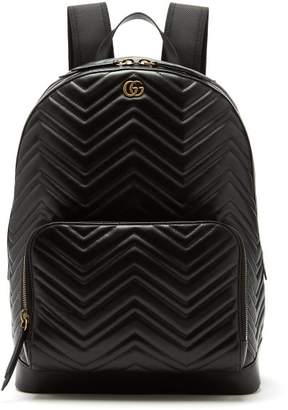 Gucci - Marmont Leather Backpack - Mens - Black