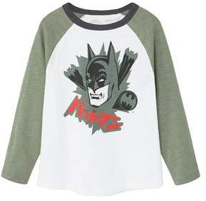 MANGO Superhero cotton t-shirt