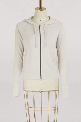 James Perse Cotton palms hoodie