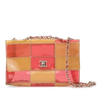 Chanel Pre-Owned 1998's patchwork double chain shoulder strap
