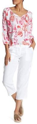 Tommy Bahama Two Palms Crop Linen Pants