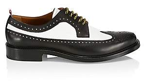 Burberry Men's Arndale Two-Tone Brogues