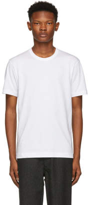 Comme des Garcons White Basic Logo T-Shirt