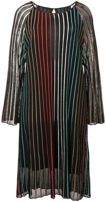 OSKLEN pleated colour dress