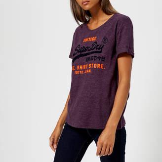 Superdry Women's Shirt Shop New Slim T-Shirt