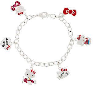 Hello Kitty 40th Anniversary Charm Bracelet $31.35 thestylecure.com