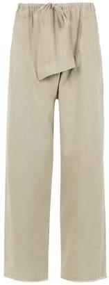 OSKLEN drop croatch pants