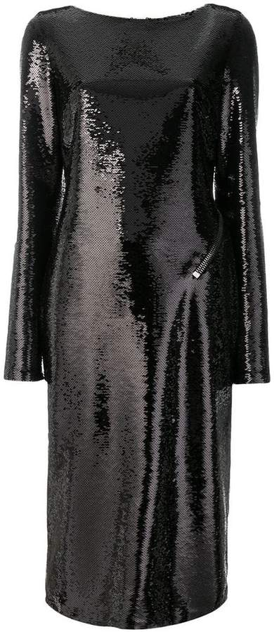 Tom Ford backless sequinned dress