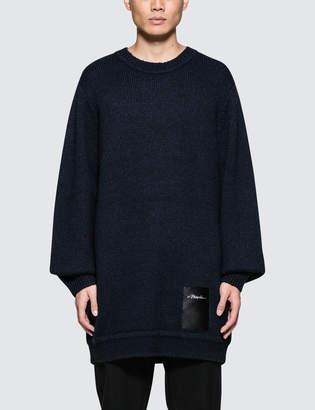 3.1 Phillip Lim Maxi Chunky Wool Sweater