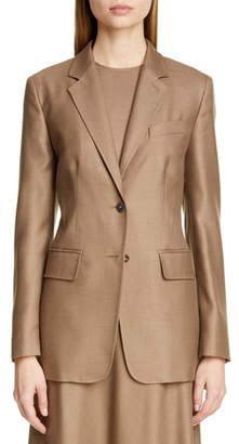 Max Mara Rosina Camel Hair & Silk Jacket