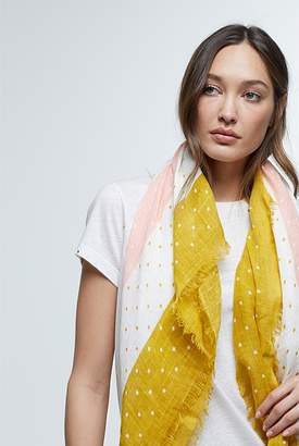 Country Road Linen Spot Scarf