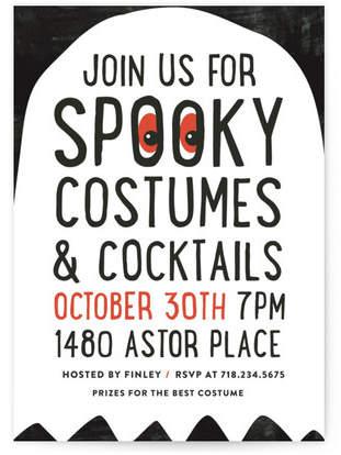 Spooky Holiday Party Invitations