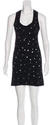 Thomas Wylde Sleeveless Mini Dress