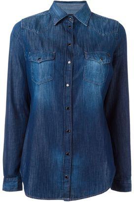 Diesel western denim shirt $219.28 thestylecure.com