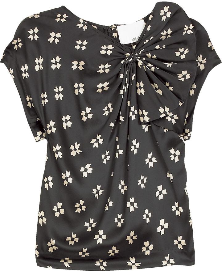 3.1 Phillip Lim Half bow blouse