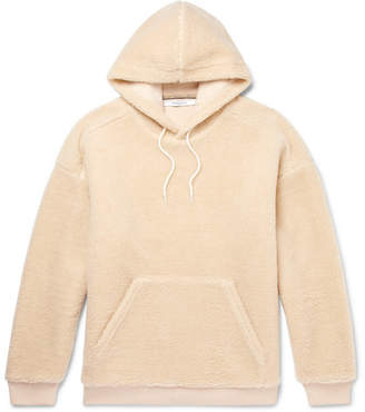 Givenchy Logo-Embroidered Fleece Hoodie